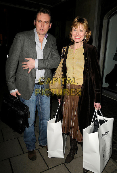 PHILIP GLENISTER .At the Radio Times Covers Party, Claridges Hotel, London, England, 20th January 2009..full length grey gray suit jacket blazer  shirt jeans .CAP/CAN.©Can Nguyen/Capital Pictures