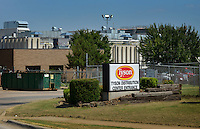 NWA Democrat-Gazette/BEN GOFF &bull; @NWABENGOFF<br /> A view of the Tyson Foods facility on W. Olrich St. in Rogers on Friday Aug. 7, 2015.