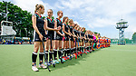 Mannheim, Germany, June 10: During the U16 Girls fieldhockey match between The Netherlands and Germany at the Whitsun Tournament on June 10, 2019 at Am Neckarkanal in Mannheim, Germany. (Copyright Dirk Markgraf) ***