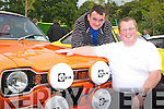 Tom Flynn, Abbeyfeale and John Morning, Templeglantine with their mark 1 Ford Escort Mexico at the Ford show in Muckross on Saturday.   Copyright Kerry's Eye 2008