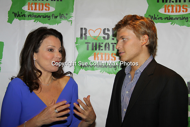Fran Drescher at Rosie's O'Donnell 10th Anniversary Gala to benefit Rosie's Theatre Kids on September 25, 2013 at the New York Marriott Marquis, New York City, New York. (Photo by Sue Coflin/Max Photos)