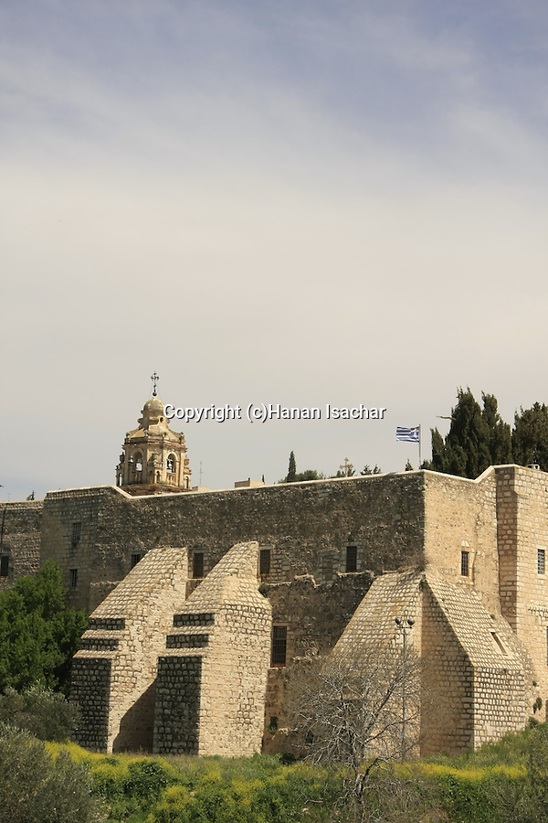 Israel, Jerusalem. The Church of the Cross in the Valley of the Cross