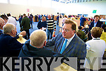 Thomas McEllistrim pictured at the local elections at John Mitchels on Sunday.