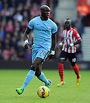 Eliaquim Mangala of Manchester City<br /> - Barclays Premier League - Southampton vs Manchester City - St Mary's Stadium - Southampton - England - 30th November 2014 - Pic Robin Parker/Sportimage