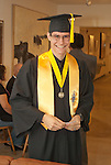 James Clifford, ready for graduation at the Western Nevada College commencement in Fallon, Nev., on Tuesday, May 20, 2014. <br /> Photo by Kim Lamb