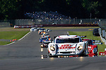 The Alex Job Racing Porsche Crawford at the start of the Emco Gears Classic at Mid-Ohio, 2006<br />