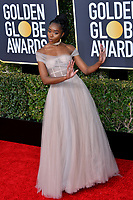 LOS ANGELES, CA. January 06, 2019: Kiki Layne at the 2019 Golden Globe Awards at the Beverly Hilton Hotel.<br /> Picture: Paul Smith/Featureflash