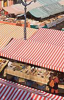 Europe/France/Provence-Alpes-Côte d'Azur/06/Alpes-Maritimes/Nice:  le marché du Cours Saleya