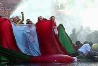 Demonstration in Bilbao, 14th September 2002..Photo: Ander Gillenea.