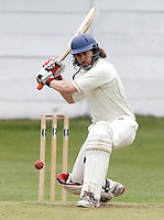 O Johnson bats for South Hampstead during the Middlesex County Cricket League Division Two game between North Middlesex and South Hampstead at Park Road, Crouch End on Saturday June 12, 2010