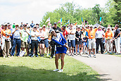 28th May 2017, Ann Arbor, MI, USA;  Minjee Lee, of Australia, chips onto 18th green during the final round of the LPGA Volvik Championship on May 28, 2017 at Travis Pointe Country Club in Ann Arbor, Michigan.