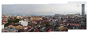 An overview of capital Georgetown of Penang, Malaysia. Photo: Sanjit Das/Panos