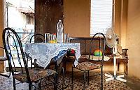HAVANA-CUBA - 15.10.2016: Interior de uma casa na região central de Havana.  (Foto: Bete Marques/Brazil Photo Press)