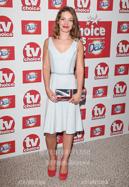 Perdita Weeks arriving for the 2012 TVChoice Awards, at the Dorchester Hotel, London. 10/09/2012. Picture by:  Alexandra Glen / Featureflash