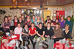 RETIRED: Mary Rose Fenton, Caragh Lake (seated centre), who retired from St Joseph's Retirement Home, Killorglin, celebrating with friends and colleagues in the Phoenix Restaurant, Killorglin, on Friday.   Copyright Kerry's Eye 2008