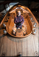 Labour of love - Englishman takes 12 years to hand build his own  sailing yacht.