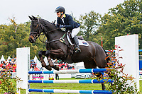 AUS-Samantha Birch rides Faerie Magnifico during the Showjumping for the CCI2*-L6YO. 2019 FRA-Mondial du Lion - FEI World Breeding Championships. Le Lion d'Angers. France. Sunday 20 October. Copyright Photo: Libby Law Photography