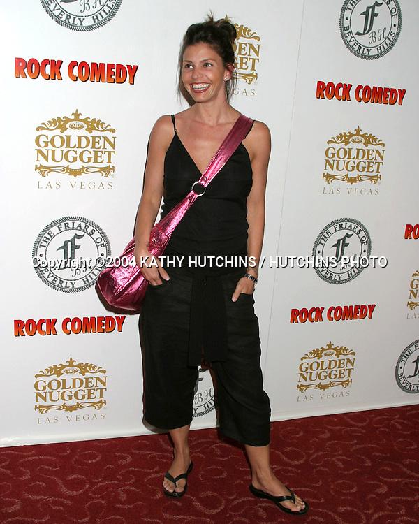 ©2000 KATHY HUTCHINS /HUTCHINS PHOTO.ROCK COMEDY AT THE FRIAR'S CLUB.BEVERLY HILLS, CA.MAY 12, 2004..CHARISMA CARPENTER.