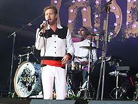 Ricky Wilson - Kaiser Chiefs perform at the Pub in the Park's Drive In Garden Party at Knebworth Park, Herts on Saturday September 12th 2020<br /> CAP/ROS<br /> ©ROS/Capital Pictures /MediaPunch **NORTH AMERICAS ONLY**
