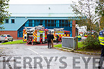 the scene of the fire in an Industrail Estate in Killarney on Wednesday