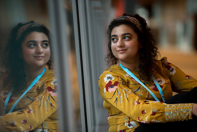 25 June, 2018, Kuala Lumpur, Malaysia : Manahil Siddiqi ( WHO- Switzerland) poses on the opening day at the Girls Not Brides Global Meeting 2018 at the Kuala Lumpur Convention Centre. Picture by Graham Crouch/Girls Not Brides