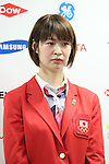 Saori Kimura (JPN), <br /> JULY 3, 2016 - Olympic : <br /> Japan National Team Send-off Party <br /> for Rio 2016 Olympic Games<br /> at 1st Yoyogi Gymnasium, <br /> Tokyo, Japan. (Photo by Yohei Osada/AFLO SPORT)