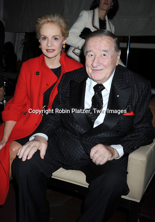 Carolina Herrera and Sirio Maccioni