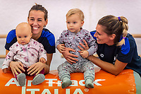 Tania Cagnotto e Francesca Dallape con le figlie Maya e Ludovica <br /> Bolzano 5-12-2018 <br /> Tania Cagnotto riprende gli allenamenti dopo il ritiro del 2017 <br /> Photo Pasquale Mesiano/ Deepbluemedia /Insidefoto