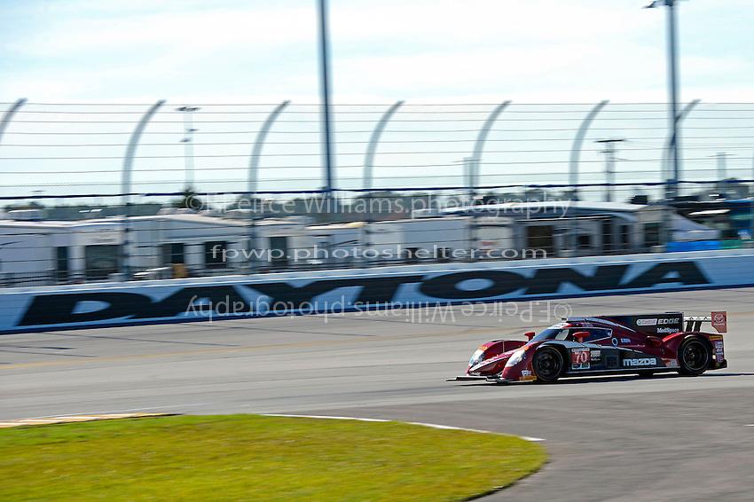 28-31 January, 2016, Daytona Beach, Florida USA<br /> 70, Mazda, P, Joel Miller, Tom Long, Ben Devlin<br /> &copy;2016, F. Peirce Williams
