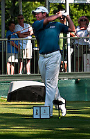 Lee Westwood at St. Jude Classic in Memphis.