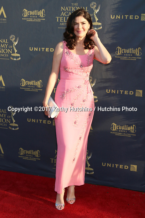 LOS ANGELES - APR 28:  Sonia Montejano at the 2017 Creative Daytime Emmy Awards at the Pasadena Civic Auditorium on April 28, 2017 in Pasadena, CA