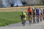 The main bunch of favourites descend off Paterberg during the 2019 E3 Harelbeke Binck Bank Classic 2019 running 203.9km from Harelbeke to Harelbeke, Belgium. 29th March 2019.<br /> Picture: Eoin Clarke | Cyclefile<br /> <br /> All photos usage must carry mandatory copyright credit (© Cyclefile | Eoin Clarke)