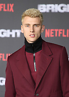 WESTWOOD, CA - DECEMBER 13: Machine Gun Kelly, at Premiere Of Netflix's 'Bright' at The Regency Village Theatre, In Hollywood, California on December 13, 2017. Credit: Faye Sadou/MediaPunch /NortePhoto.com NORTEPHOTOMEXICO