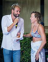 Massimiliano Rosolino<br /> Federica Pellegrini<br /> day 02  09-08-2017<br /> Energy For Swim<br /> Rome  08 -09  August 2017<br /> Stadio del Nuoto - Foro Italico<br /> Photo