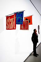 Illustration Ambiance <br /> Parigi 16-10-2017 MoMa <br /> Esposizione Arte moderna <br /> Foto JB Autissier / Panoramic / Insidefoto