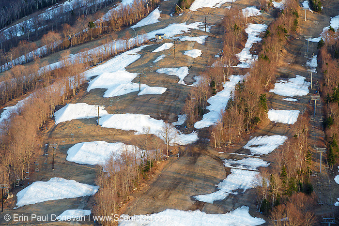 Ski trails on Cannon Mountain in <br />