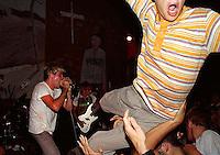 Dag Nasty at Gilman Street, Berkeley, California. 1987.