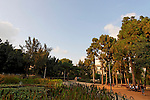 "Israel, the Coastal Plain. ""Gan Meir"" park  in Tel Aviv"