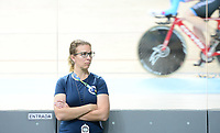 Picture by Simon Wilkinson/SWpix.com 24/03/2018 - Cycling 2018 UCI  Para-Cycling Track Cycling World Championships. Rio de Janeiro, Brazil - Barra Olympic Park Velodrome - Day 3 - Finals -  USA coach Sarah HAMMER
