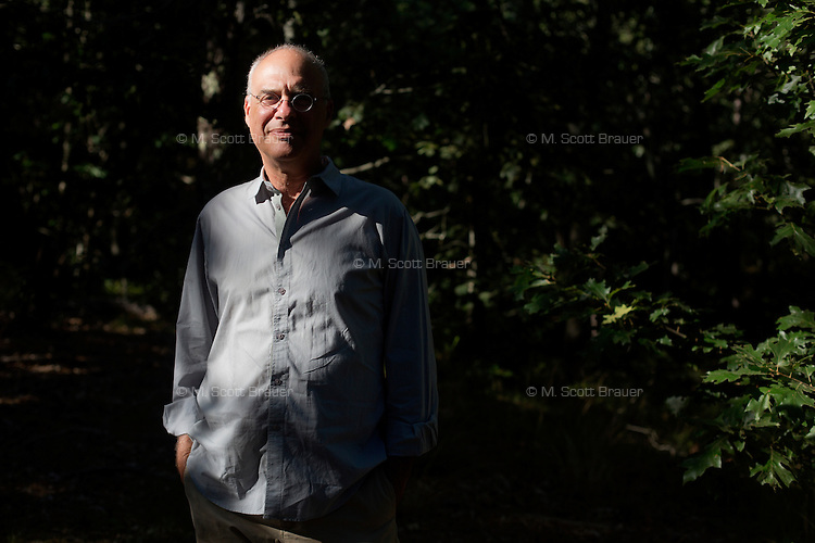 """Mark Bittman is a columnist for the New York Times and author of the popular Times cooking blog The Minimalist and the bestselling cookbook series """"How to Cook Everything.""""  Here, Bittman is photographed in and around his summer home on Cape Cod in Truro, Massachusetts."""