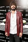 The singer Pol attends the SMODA Magazine and SEPHORA new Marc Jacobs Make up collection presentation at Sephora Shop in Madrid, Spain. October 6, 2014. (ALTERPHOTOS/Carlos Dafonte)