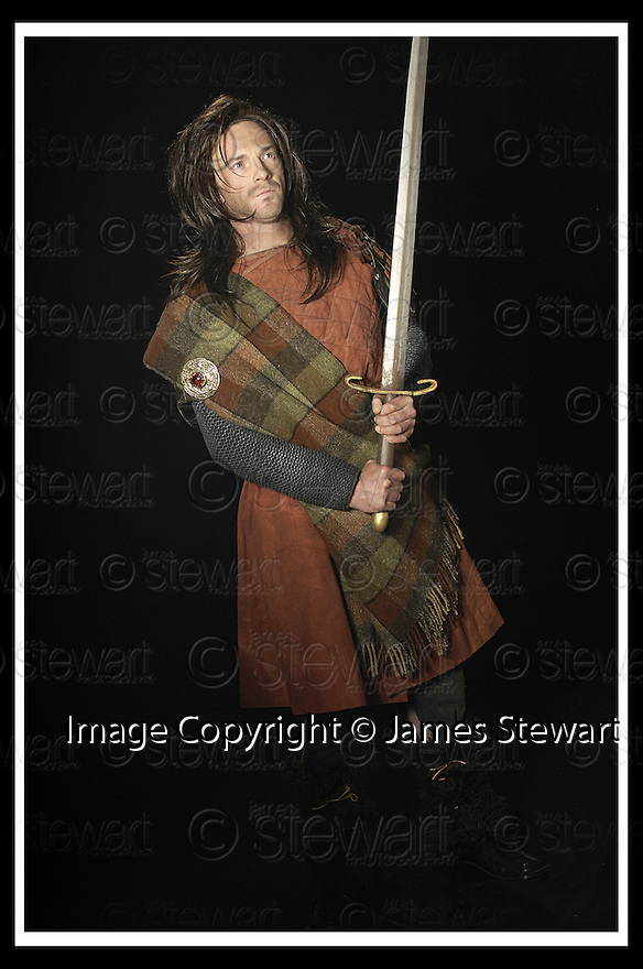 18/02/2008    Copyright Pic: James Stewart.File Name : sct_jspa02_john_smeaton.GLASGOW AIRPORT HERO JOHN SMEATON AS THE GHOST OF WILLIAM WALLACE.....(see copy from George Mair).....James Stewart Photo Agency 19 Carronlea Drive, Falkirk. FK2 8DN      Vat Reg No. 607 6932 25.Studio      : +44 (0)1324 611191 .Mobile      : +44 (0)7721 416997.E-mail  :  jim@jspa.co.uk.If you require further information then contact Jim Stewart on any of the numbers above........