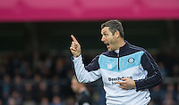 Wycombe Wanderers Goalkeeping Coach Barry Richardson during the Sky Bet League 2 match between Wycombe Wanderers and Oxford United at Adams Park, High Wycombe, England on 19 December 2015. Photo by Andy Rowland.
