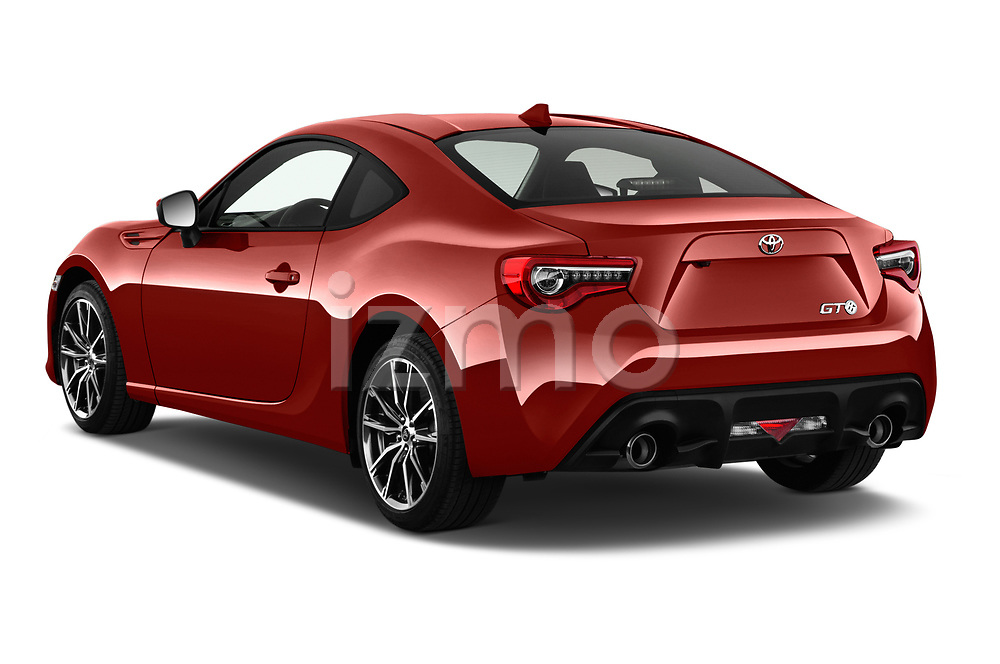 Car pictures of rear three quarter view of a 2017 Toyota GT86 Sport 2 Door Coupe angular rear