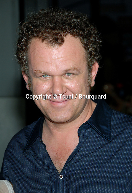 John C Reilly arriving at the Talladega Nights Premiere at the Chinese Theatre In Los Angeles. July 26, 2006.<br /> <br /> eye contact<br /> headshot