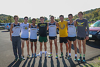 2015 STL Sub West XC Lafayette Varsity Boys with Alum J West