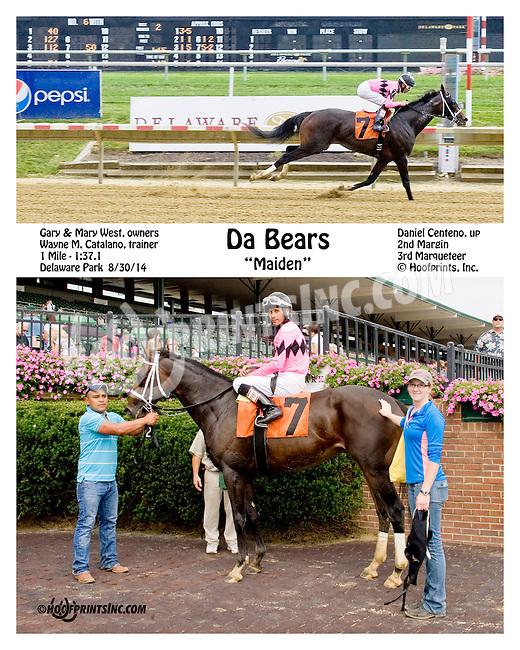 Da Bears winning at Delaware Park on 8/30/14