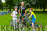 Pedal in the Park : Taking part in the Pedal in The Park in Listowel on Saturday morning last were Daibhin, John & Daithi Laide from Listowel.