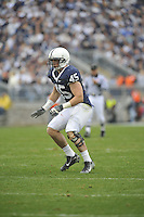 14 November 2009:  Penn State LB Sean Lee (45) had 10 tackles..The Penn State Nittany Lions defeated the Indiana Hoosiers 31-20 at Beaver Stadium in State College, PA..