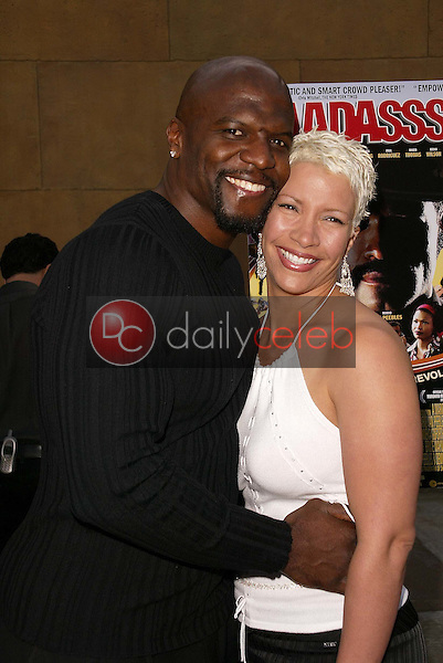Terry Crews and wife Rebecca